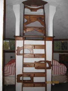 Open Loft, third floor, with stairs to the widows watch