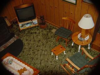 Living Room viwed from Loft