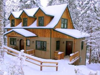 New European style cabin- sledding hill, gourmet kitchen, games, Sleeps 9.