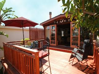 Bay View Home Across from Marina Park & Steps to the Beach! Huge Deck (68164)