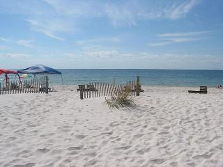 Clearwater 4A~E. Corner Beachfront Condo, Gulf View~Bender Vacation Rentals, Gulf Shores