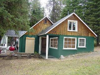 Payette Lake-front Cabin with Private Dock and Sandy Beach.