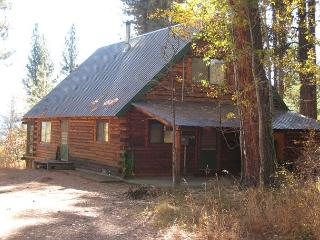 Log Cabin in a Wooded Setting with Beautiful Meadow Views, McCall