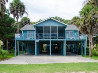 Pompano Crab Inn - Well Maintained Beach Walk Home - 4BR/2BA, Edisto Island