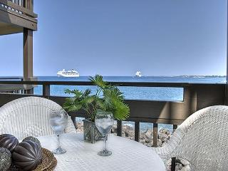 Oceanfront 2 bedroom ground floor condo with amazing Ocean Views