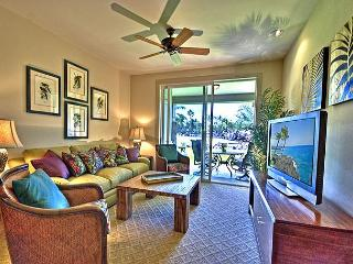 Spacious Two Bedroom, Two Bath Ocean View Villa (AC & Resort Fees incl.), Waikoloa
