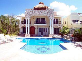 Oceanview Villa with Private Pool. Cook Svce Option. Brilliant Views!, Cozumel