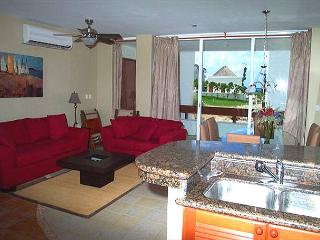 Nicely decorated living area