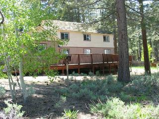 Relaxing vacation home with arcade, private hot tub, and views of the meadow!, South Lake Tahoe