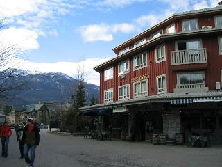 Upgraded 2 bdm condo, prime location, free internet, hot tub available. AC, Whistler