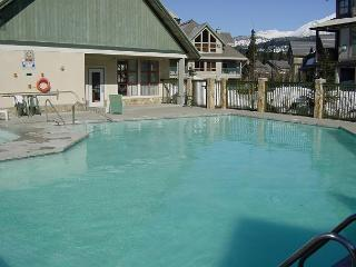 2 bdm, central,  pool, hot tub, Free internet, parking, BBQ, fireplace