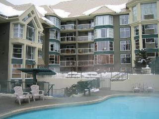 1+den, 2 bath, ski in, ski out, hot tub, pool, free internet, fireplace