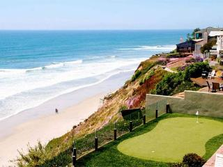 Oceanfront Retreat, 5br, 5ba, private putting , oceanfront patio, private spa, Encinitas