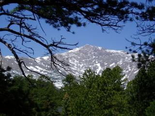 Views From Cabin of Mount Meeker