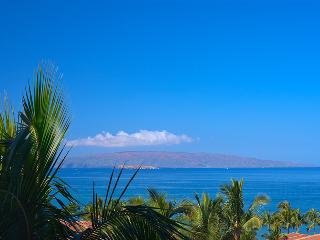 Amazing Direct Sunset, Moonset, and Panoramic High-Floor Ocean View From J305 Aqua Lani. Also close to the Shops At Wailea but sheltered from noise from the Family Pool Area - Perfect Location within the Wailea Beach Villas