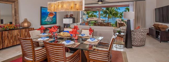 Sun Splash C301 - Indoor Dining For Six. Outdoor Dining for Six. Everything is stocked for entertaining and fine dining...