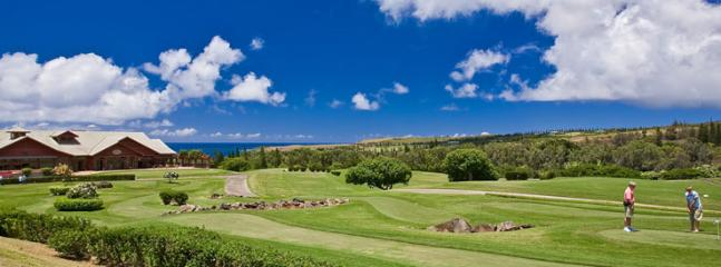 Gorgeous Golf Setting within Kapalua Resort