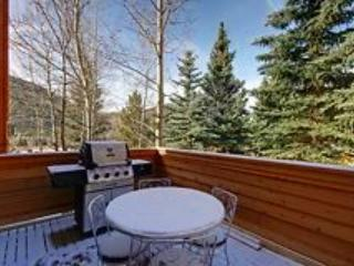 Your private deck with CO mountain views!