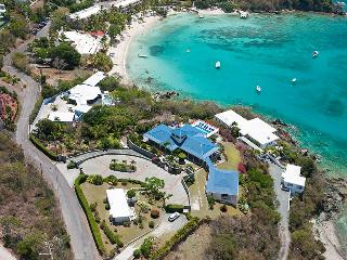 Blue Serenity at Secret Harbour, St. Thomas - Ocean View, Walk To Beach, Pool