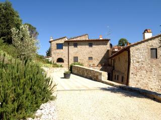 Apartment on a Chianti Wine Estate - Rosso 2, Montefiridolfi