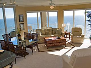 Large 3 Bedroom Vacation Home with Gulf Front Views at Tidewater, Panama City Beach