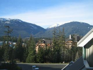 Mt view top floor unit, nice big hot tub in lodge,free parking/internet