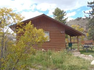Rustic 1 BR Cabin Near River at Three Rivers Resort in Almont (#14)