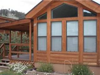 "Cozy ""Modular"" Style 1 BR with Sleeping Loft Cabin at Three Rivers Resort in Almont (#37)"