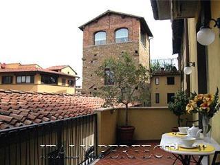 Perfect Big Sunny Terrace-Excellent Ponte Vecchio Area-Comfort-Bardi Apartment, Firenze