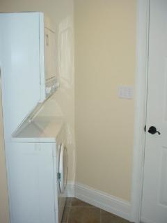 First Floor Bath - Washer/Dryer