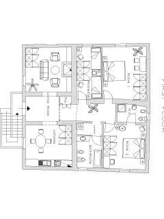 Casa San Vito floor plan