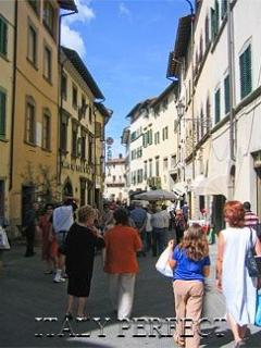 Charming San Casciano town is an easy drive