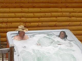 Private Hot Tub Relax in your own private hot tub
