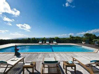 Spacious villa with Baie Longue Beach views and large pool and deck. C MED, St-Martin/St Maarten