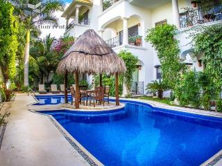 Beautiful 1 Bedroom Property with Fantastic Pool by 5th Avenue and Beaches, Playa del Carmen