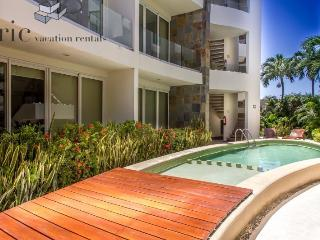 2nd Floor home with great Balcony and Living space, Riviera Maya