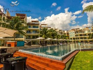 Great Beach and Ocean Views from this 2 Bedroom Home at The Elements, Playa del Carmen