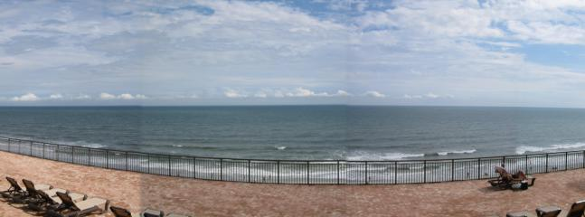 View From Condo's Private Balcony of Atlantic Ocean