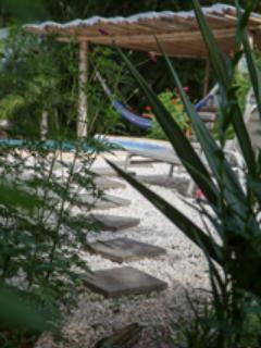 Path to pool