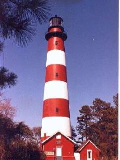 Climb the Historic Assateague Lighthouse when staying at Spinnaker on Chincoteague