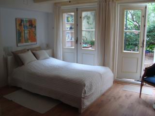 Bedroom two double doors