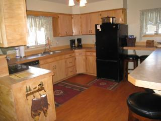 Plenty of room to cook, all cooking pans, dishes & utensils are provided.