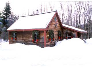 Romantic Cabin:1 Bdrm, Loft, Wood Stove Sleeps 5, Stowe