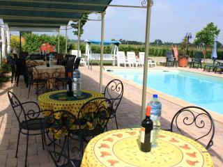 the pool Villa in Tuscany La Mucchia