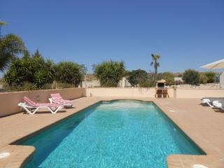 Spacious villa with pool in peaceful location