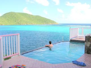 South Sound Villa Waterfront Luxury villa 7 br w/pool on Virgin Gorda A/C