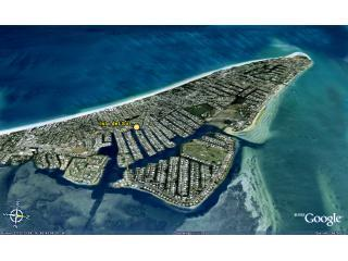 The home is centrally located at the island\'s peaceful north end near beaches & restaurants.