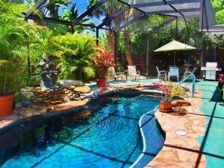 Anna Maria Island Private Tropical Garden Home
