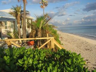 "The Pink Sand Cottage  ""RIGHT ON THE BEACH""  Wi Fi, North Palmetto Point"