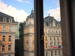 Window view, Grand Hotel Corinthia